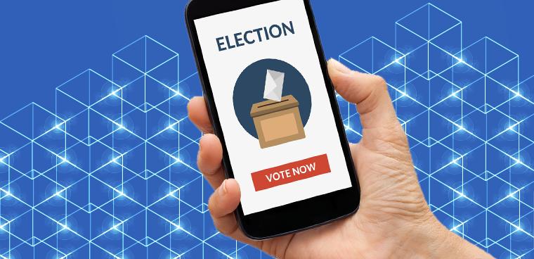 Aplicaciones de blockchain: votación electoral